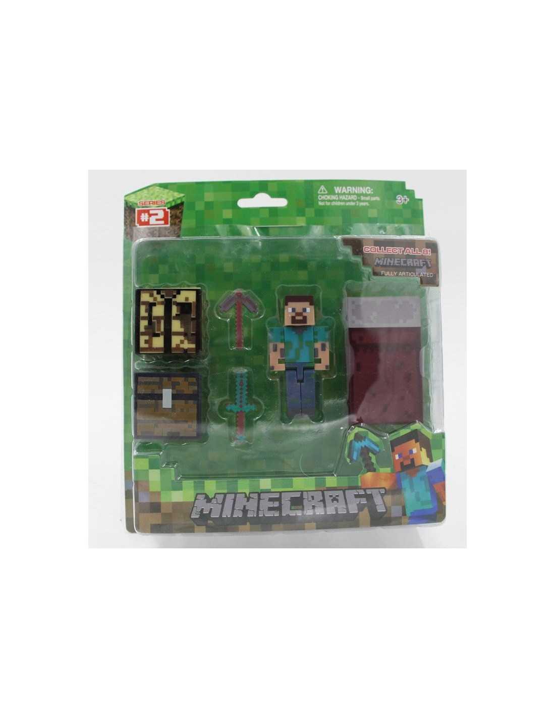 Набор MineCraft Steve + предметы