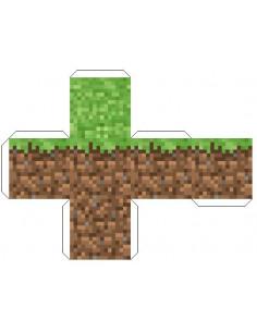 """Кубик """"Земля"""" Майнкрафт скачать бесплатно"""