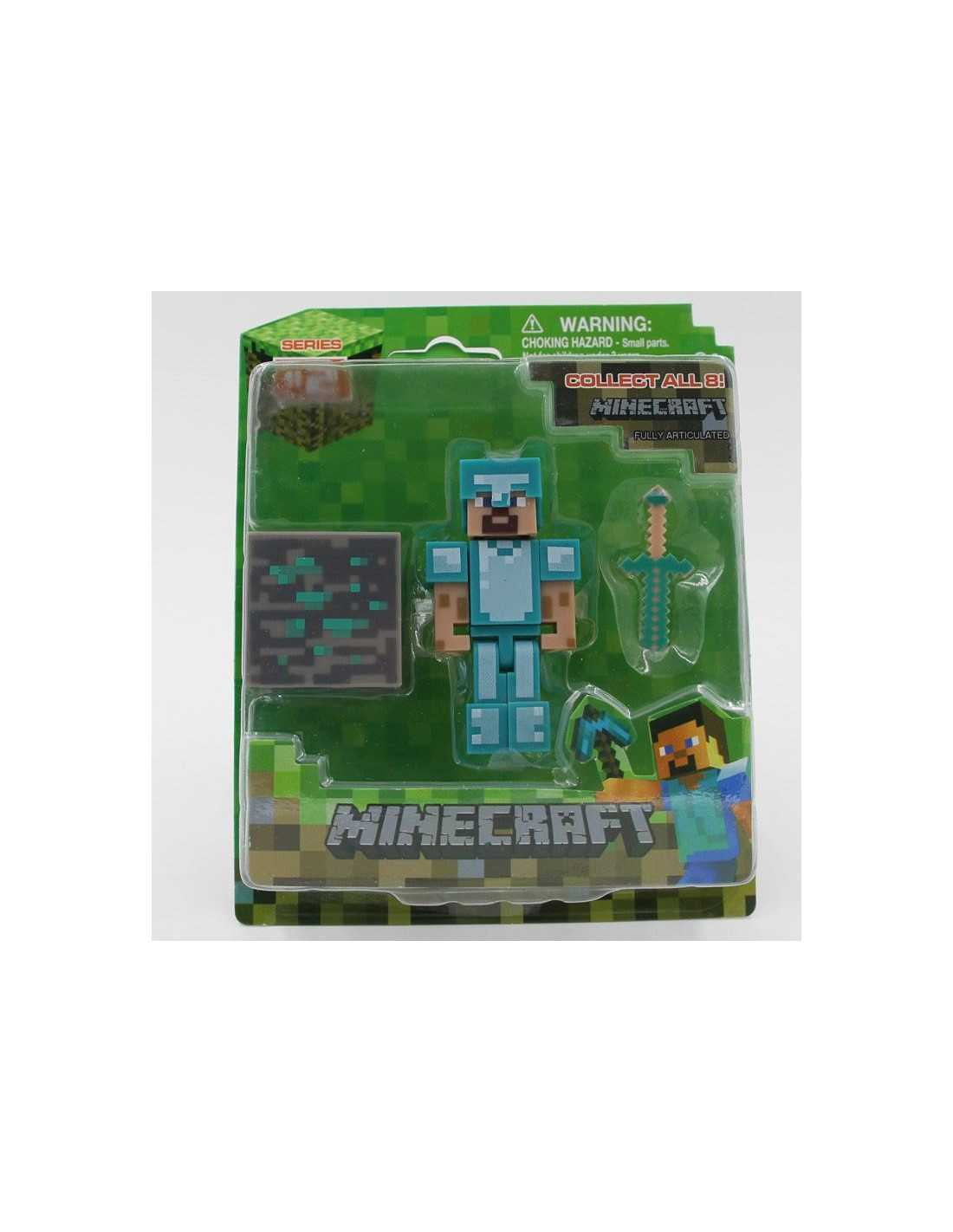 Фигурка MineCraft Steve в алмазной броне