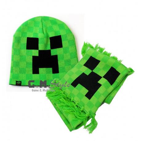 Шарфик + шапочка MineCraft