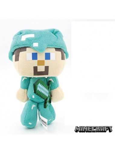 Мягкая игрушка Стив в алмазной броне Майнкрафт