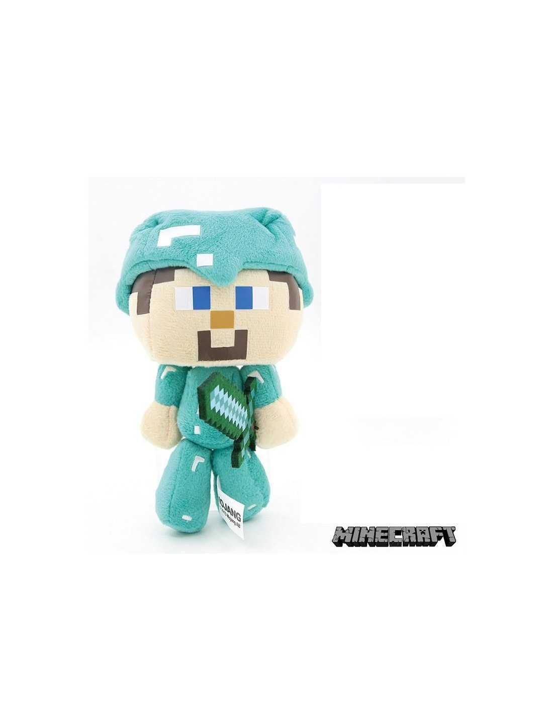 Мягкая игрушка Стив в алмазной броне
