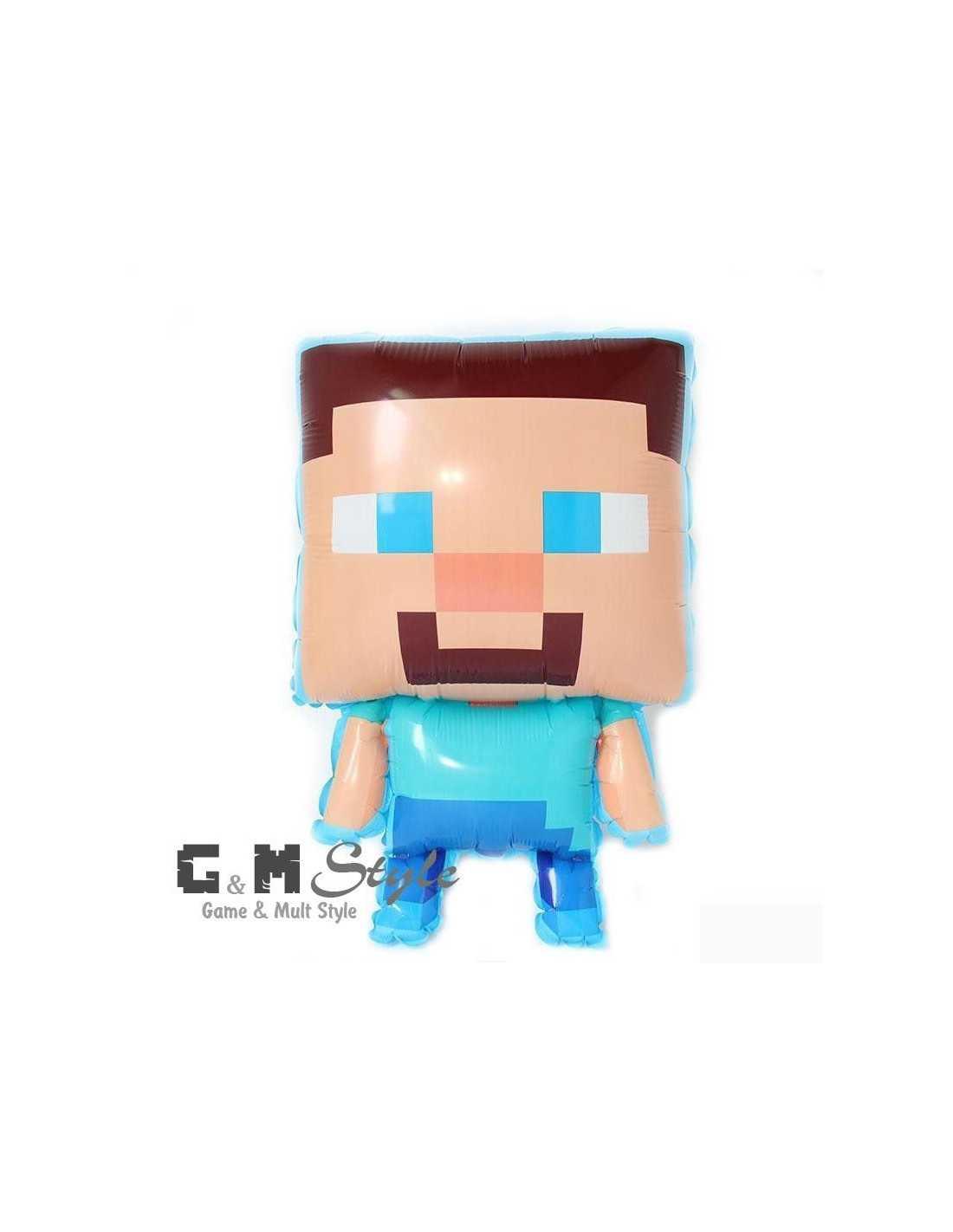 Фигура надувная Minecraft Steve
