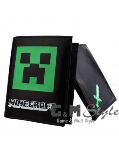 Бумажник Minecraft стильный Крипер