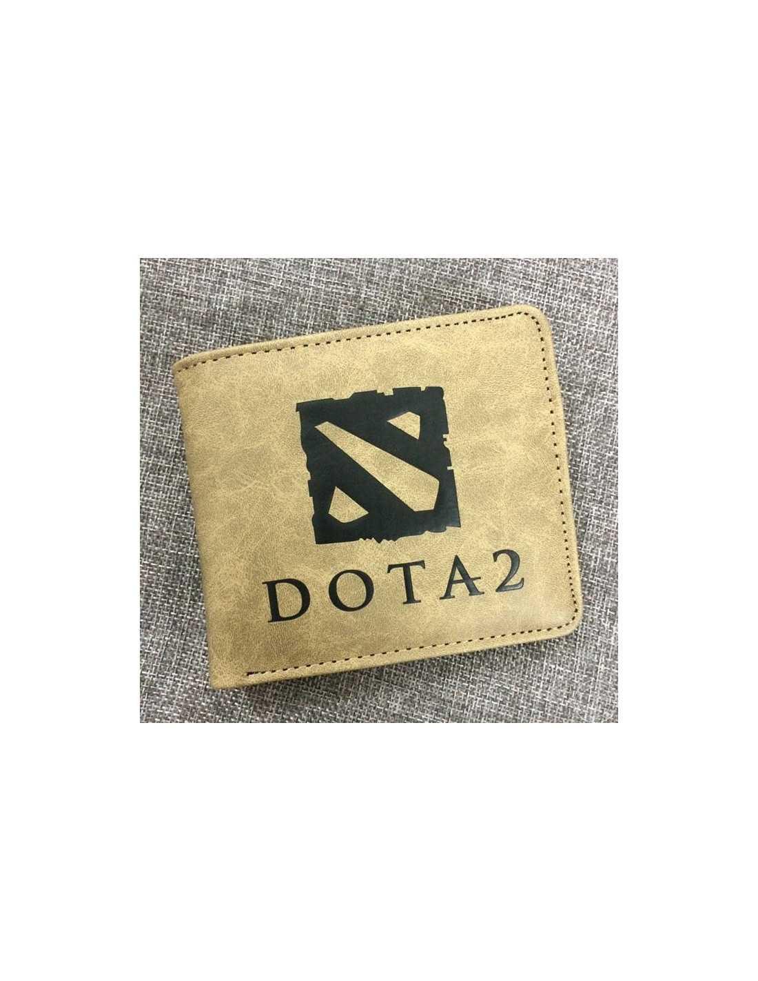 Кошелек с логотипом Dota2