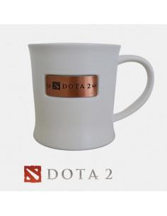 Большая белая кружка Dota2