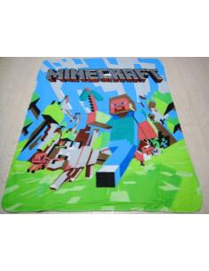 Флисовый плед Minecraft