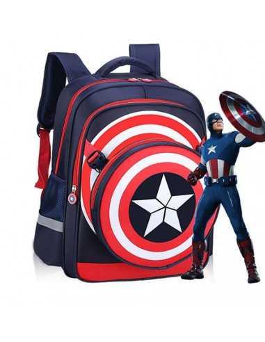 Рюкзак школьный Captain America, Marvel темно-синий