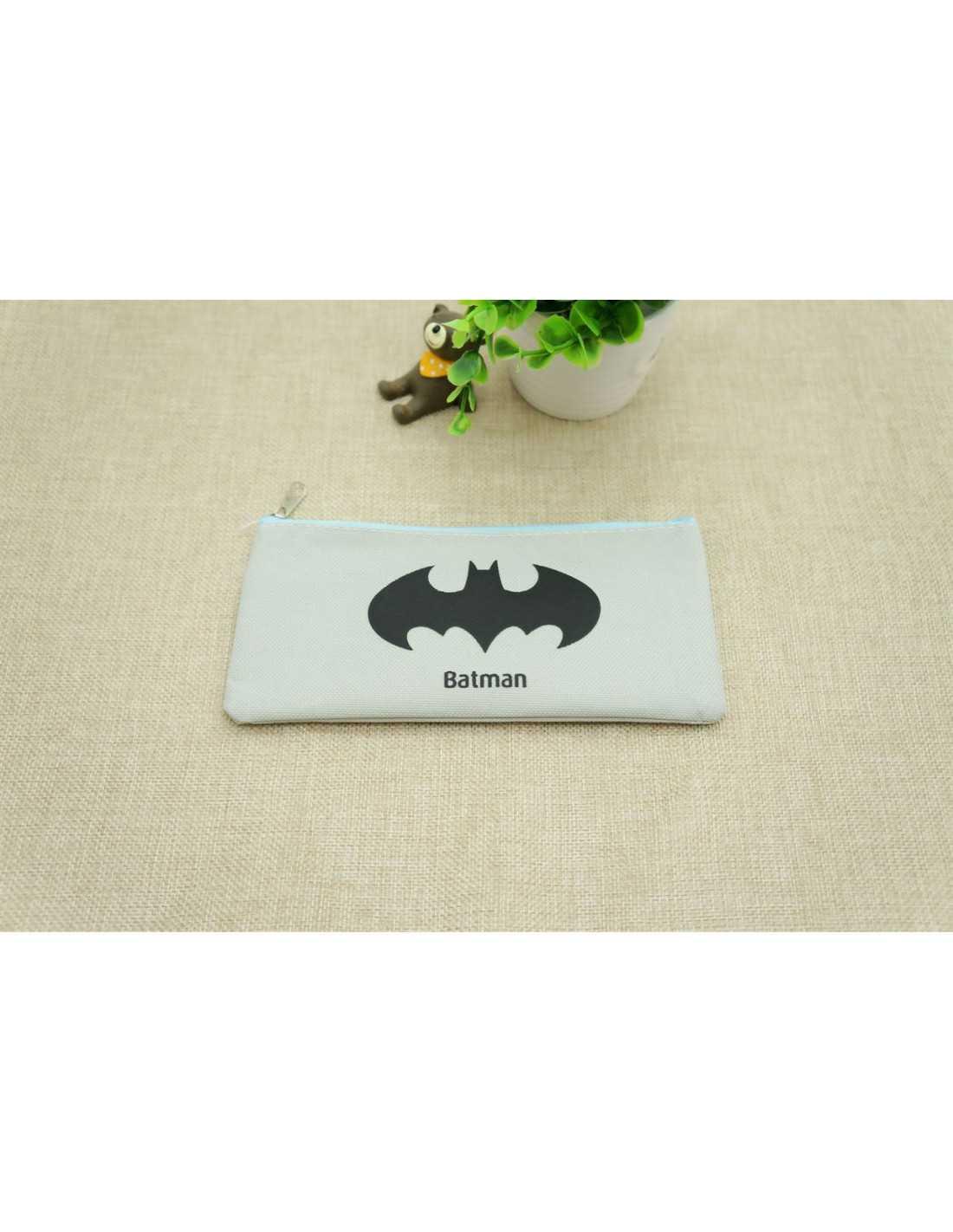 Пенал DC Batman серый