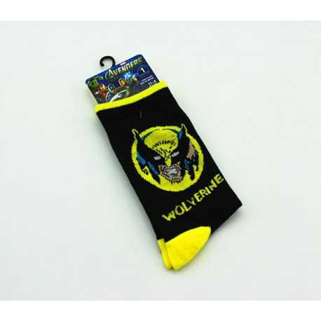 Носки Marvel Wolverine черные