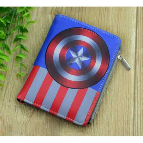 Бумажник Marvel Captain America Щит