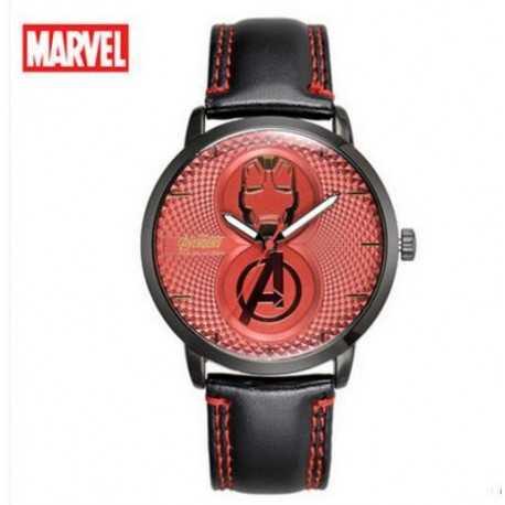 Часы Iron Man красные