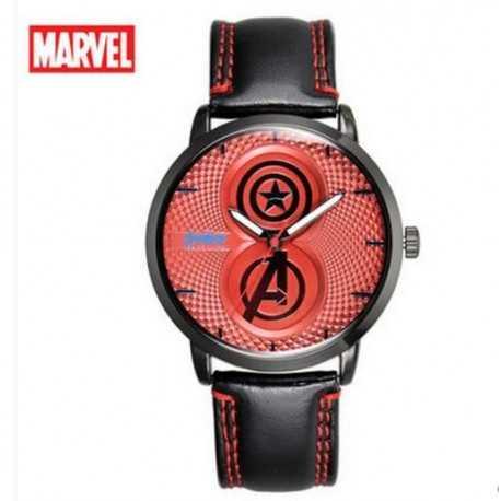 Часы Avengers красные