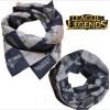 Бесшовный шарф - маска Лига легенд