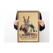Постер League of Legends