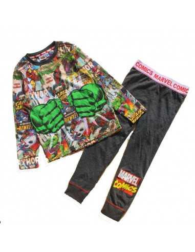 Хлопковая пижама Marvel