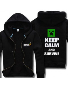 Толстовка Minecraft Крипер Ceep Calm and Survive