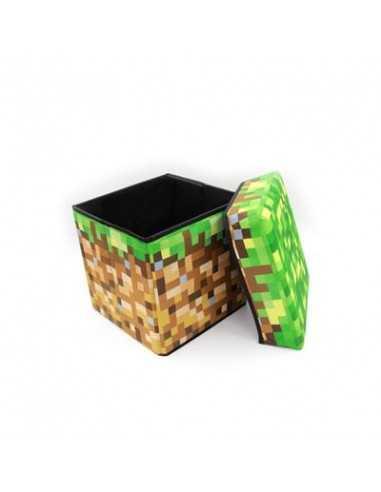 Ящик для хранения игрушек Minecraft Блок земли