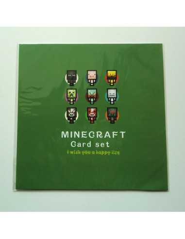 Поздравительная открытка MinecraftОригинал