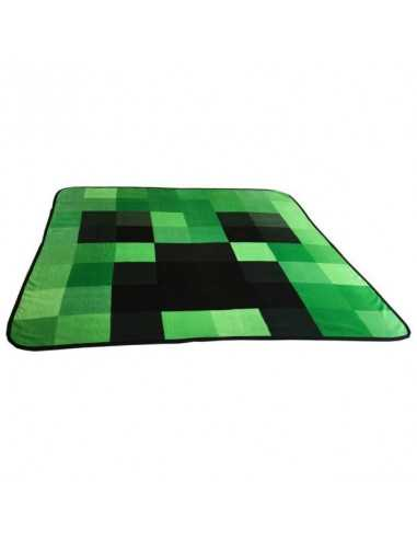 Флисовый плед Minecraft Крипер Оригинал