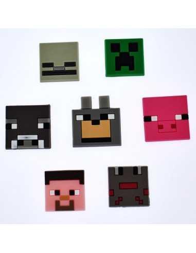 Значок Minecraft силиконовый