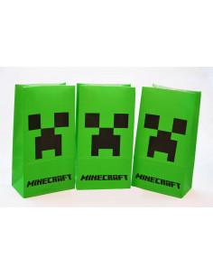 Бумажный пакет Minecraft
