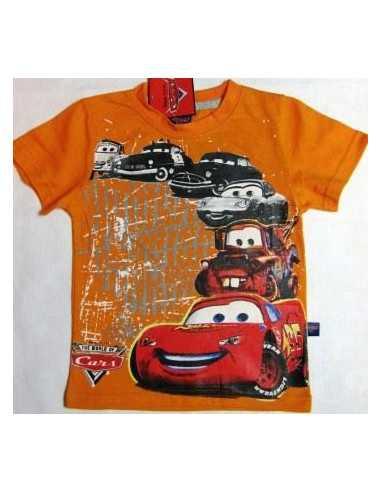 Футболка Тачки Cars оранжевая