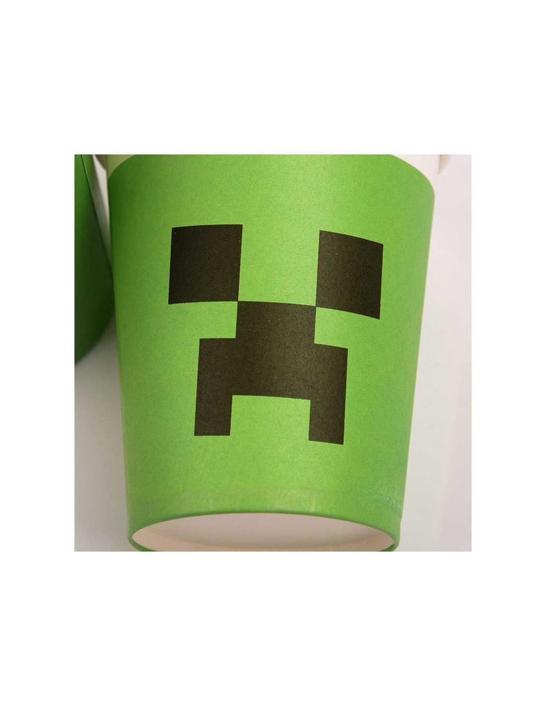Стаканчик бумажный Minecraft