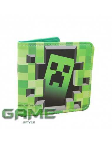 Кошелек бумажник Creeper Майнкрафт (Minecraft)