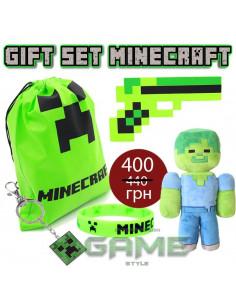 Подарочный набор Minecraft Zombie Gift Set