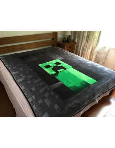 Флисовый плед Minecraft Creeper Оригинал