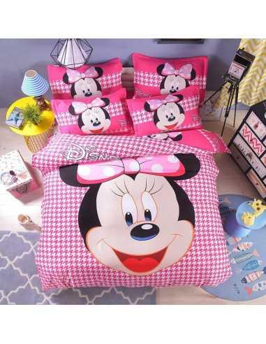 Детское постельное белье Minnie Mouse розовый