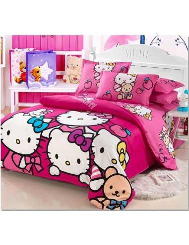 Детское постельное белье Hello Kitty семейство