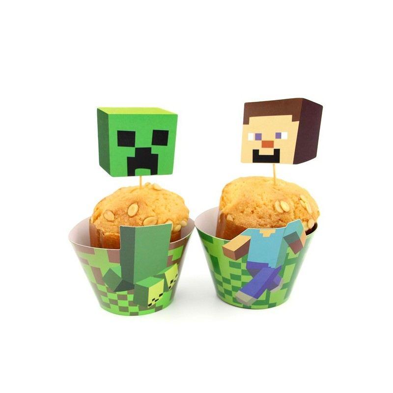 Оформление для выпечки Minecraft