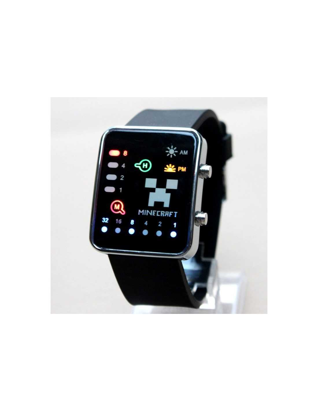 Часы Minecraft