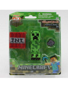 Фигурка Minecraft Creper + TNT