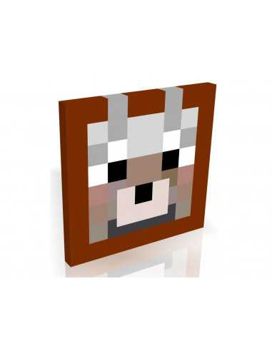 Картина MineCraft Волк 30х30
