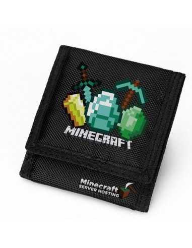 Кошелек Minecraft тканевый