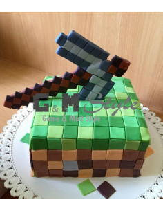 Торт Майнкрафт (Minecraft) на заказ