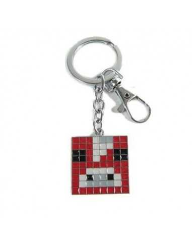 Брелок Красная корова Minecraft