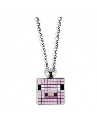 Кулон Розовая свинья Minecraft