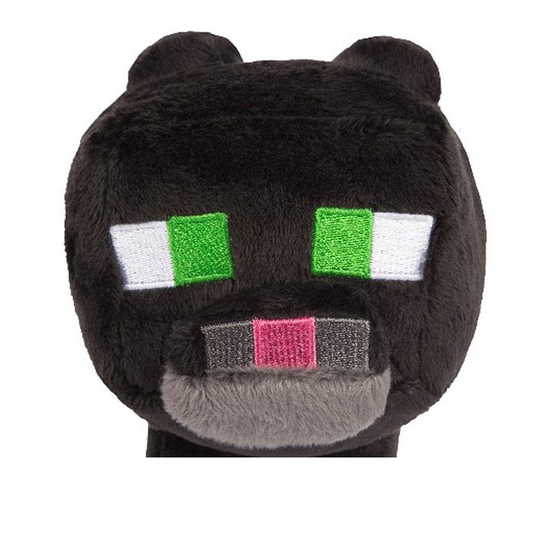 Мягкий плюшевый кот из Майнкрафт