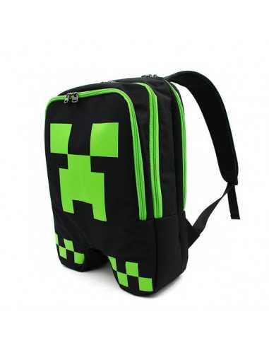 Рюкзак Minecraft Creeper черный