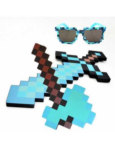 Пиксельный Алмазный набор оружия...