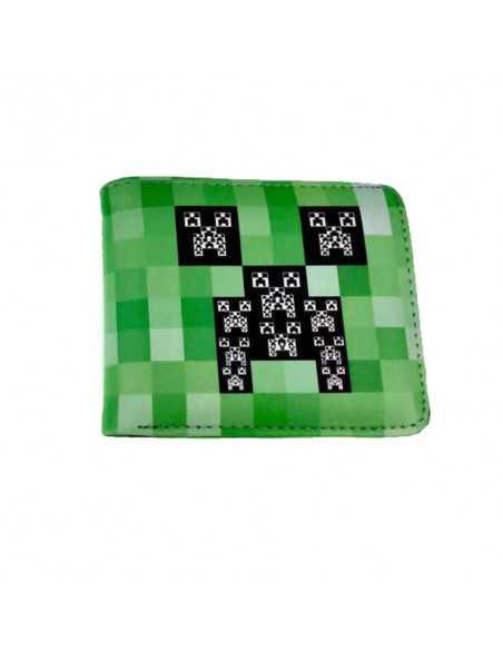 Кошелек бумажник детский Крипер Minecraft