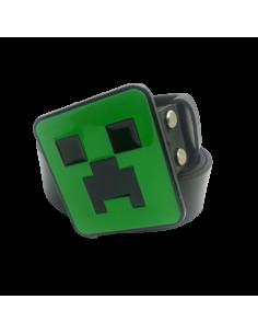 Ремень кожаный Minecraft Creeper