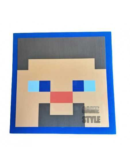 Щит Майнкрафт Minecraft Shield Стив