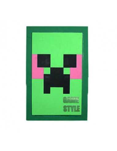 Щит зеленый Крипер Майнкрафт Minecraft Shield