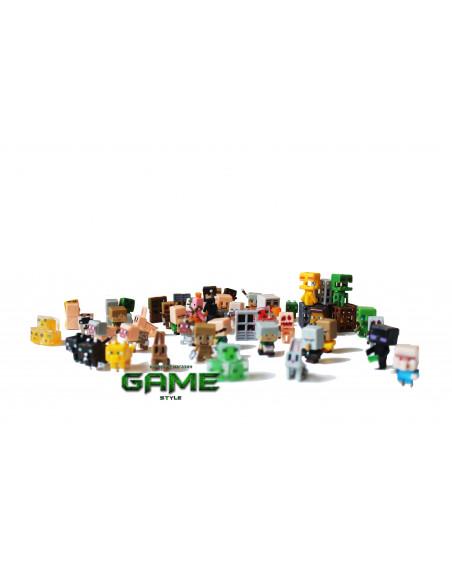 Набор мини фигурок Minecraft Серия 2