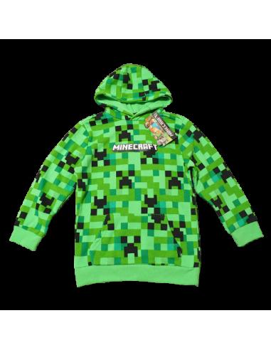 Пуловер с капюшоном Minecraft Creeper...